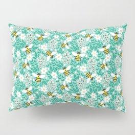 Blooms & Bees Pillow Sham
