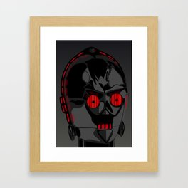 Darth-PO Framed Art Print