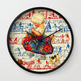 THE LITTLE LADY III Wall Clock