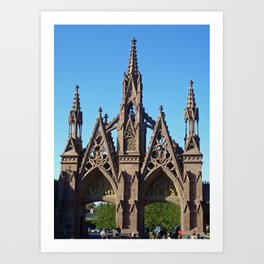 Green-Wood Cemetery Art Print
