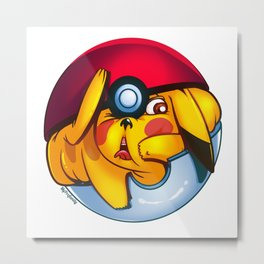 MonGo Ball Metal Print