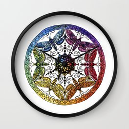 Spektrum Mandala Wall Clock