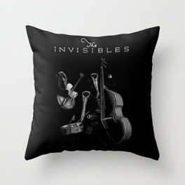 The Invisibles (With Title) Throw Pillow