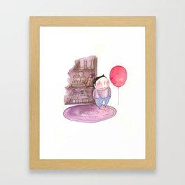 Billy's Balloon 01 Framed Art Print