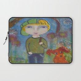 Anton & Gumbo - Whimsies of Light Children Series Laptop Sleeve
