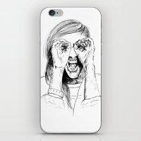 ellie goulding iPhone & iPod Skins featuring Ellie Goulding by Sophie Melissa