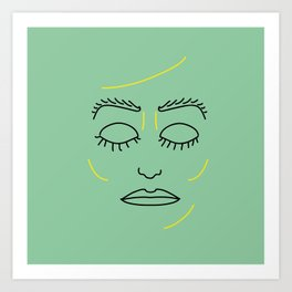 Close Those Eyes Art Print