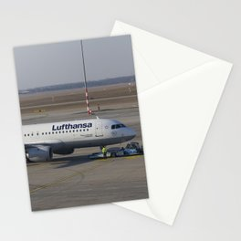 Lufthansa Airbus A320-211 Stationery Cards