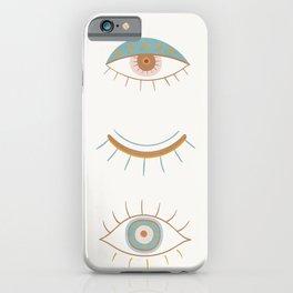 Evil Eyes II iPhone Case