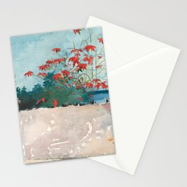 Winslow Homer's A Wall, Nassau (1898) Stationery Cards
