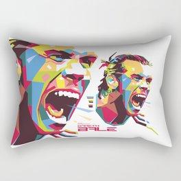 Gareth Bale WPAP 3 Rectangular Pillow