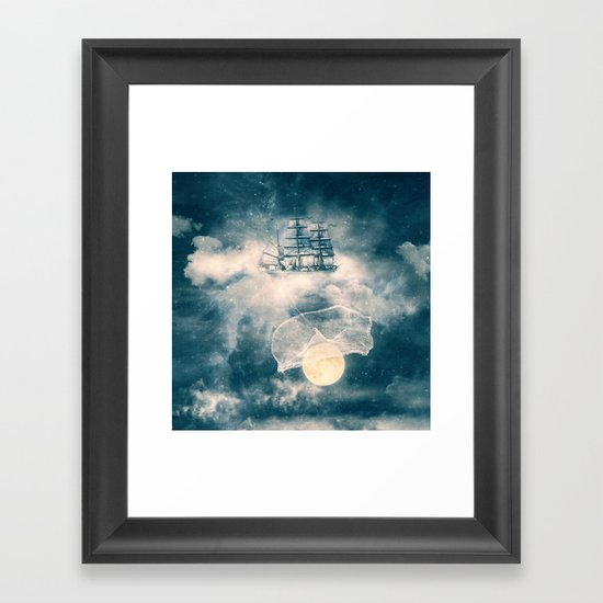 I'll bring you the MOON Framed Art Print