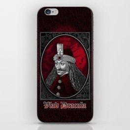 Vlad Dracula Gothic iPhone Skin