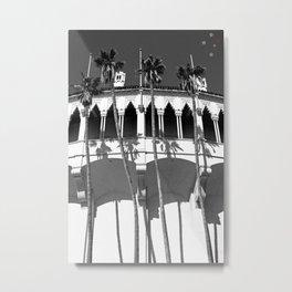 Palm Trees Catalina Metal Print
