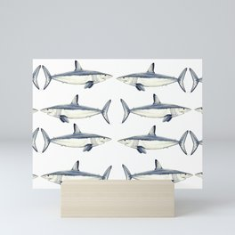 Mako shark Mini Art Print