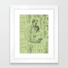 Embrace the content aware Framed Art Print