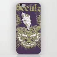 occult iPhone & iPod Skins featuring Occult beauty by Tshirt-Factory