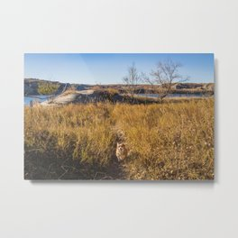 Lillie, Downstream Campground, North Dakota Metal Print