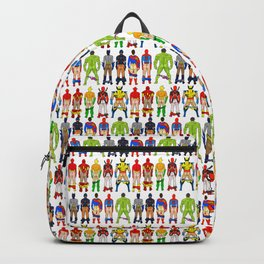 Superhero Butts Backpack