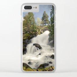 Cottonwood Falls II Clear iPhone Case