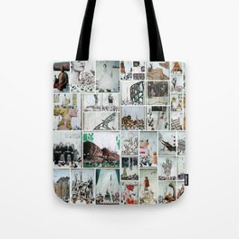100 Days of Bunnies Poster  Tote Bag