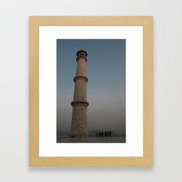 Taj Minar Framed Art Print