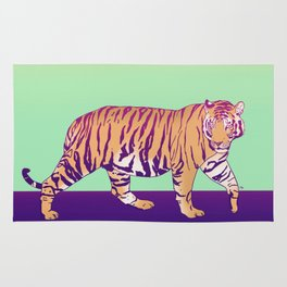 Tiger Under the Sun Rug