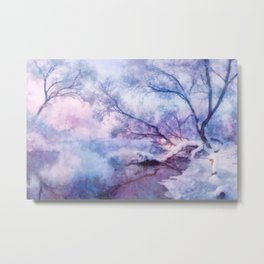 Winter fairy tale Metal Print