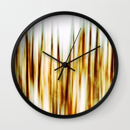 In The Field Wall Clock