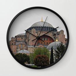 Hagia Sophia Monument, Istanbul Turkey Wall Clock