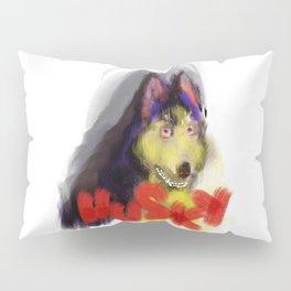 husky the dog Pillow Sham