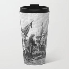 Surrender Of Cornwallis At Yorktown Travel Mug