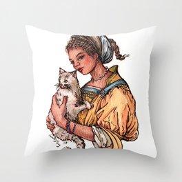 Secret Keeper Throw Pillow