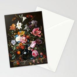 "Jan Davidsz. de Heem ""Still life with Flowers"" Stationery Cards"