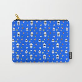 Water Level Sprites | Super Mario Pattern Carry-All Pouch