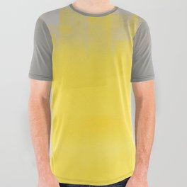 A Simple Abstract All Over Graphic Tee