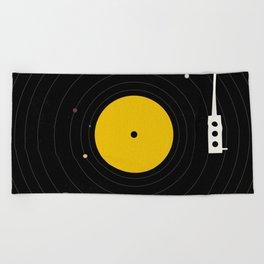 Music, Everywhere Beach Towel