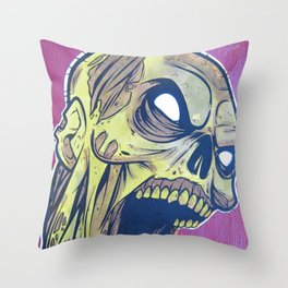 Zombie Attack! Throw Pillow