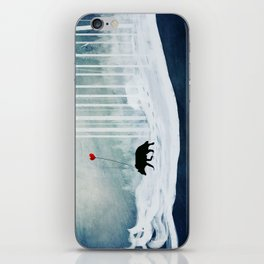 WOLF - A Love Always Carried  iPhone Skin