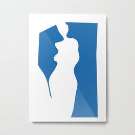Abstract Woman 3 Metal Print