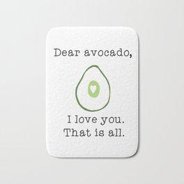 Dear Avocado Bath Mat