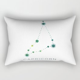 CAPRICORN STAR CONSTELLATION ZODIAC SIGN Rectangular Pillow