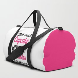 Diets Are Hard Funny Quote Duffle Bag