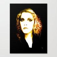 stevie nicks Canvas Prints featuring Stevie Nicks - Dreams - Pop Art by William Cuccio aka WCSmack