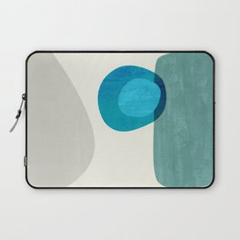 Stacking Pebbles Blue Laptop Sleeve
