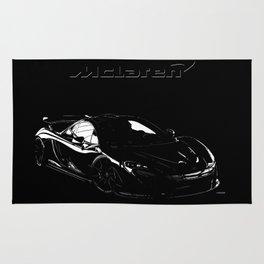 McLaren P1 High Contrast Rug