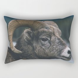 Big Horn Rectangular Pillow