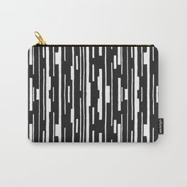 Abstract Code Carry-All Pouch
