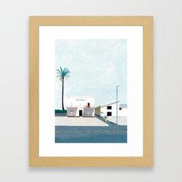 Street View Journey : Sicily, Italy Framed Art Print