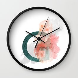 G is for Ghost - Letter G Monogram Wall Clock